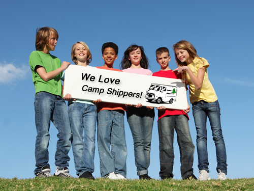 kids love camp shippers